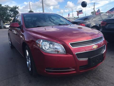 2012 Chevrolet Malibu for sale at Celebrity Auto Sales in Port Saint Lucie FL