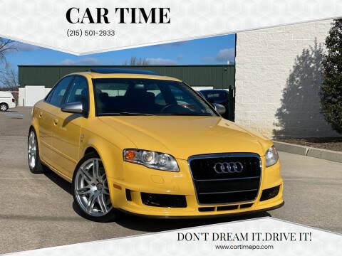 2007 Audi S4 for sale at Car Time in Philadelphia PA