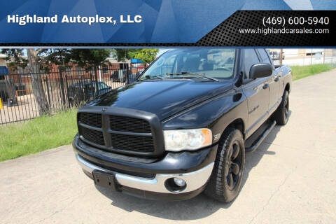 2005 Dodge Ram Pickup 1500 for sale at Highland Autoplex, LLC in Dallas TX