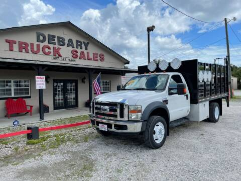 2008 Ford F-450 for sale at DEBARY TRUCK SALES in Sanford FL