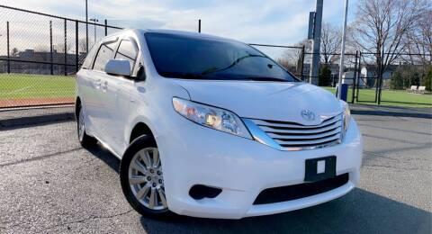 2017 Toyota Sienna for sale at Maxima Auto Sales in Malden MA