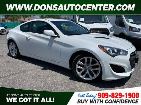 2013 Hyundai Genesis Coupe for sale at Dons Auto Center in Fontana CA