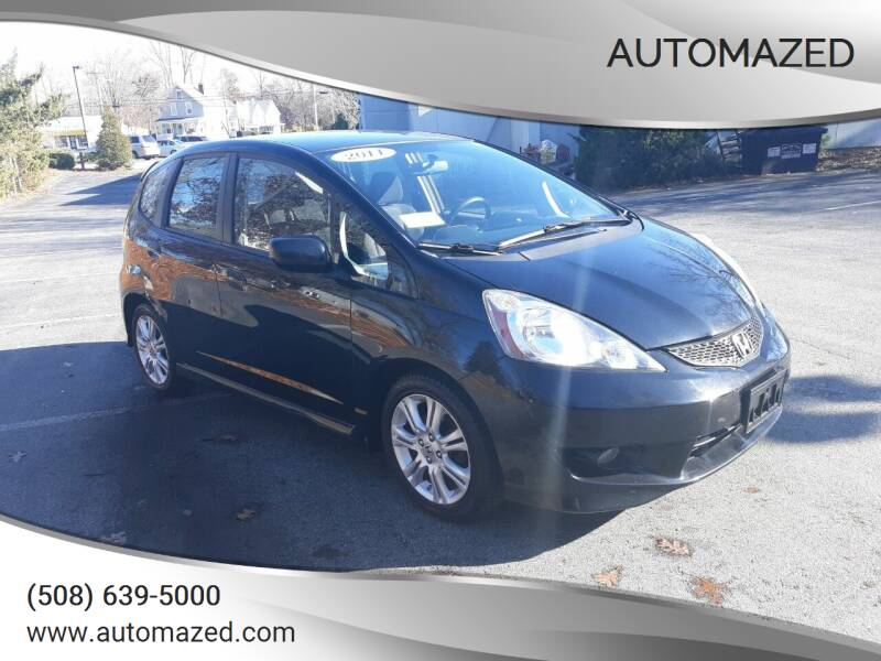2011 Honda Fit for sale at Automazed in Attleboro MA