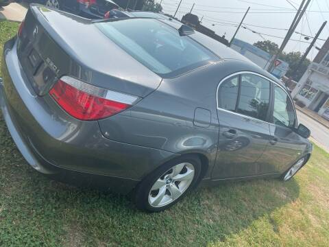 2006 BMW 5 Series for sale at Rodeo Auto Sales Inc in Winston Salem NC
