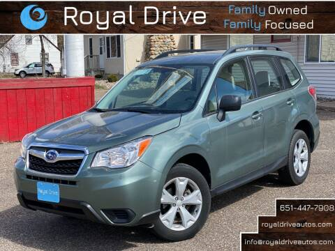 2016 Subaru Forester for sale at Royal Drive in Newport MN