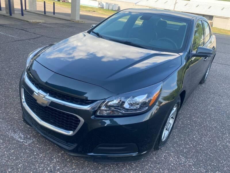 2015 Chevrolet Malibu for sale at Salama Cars / Blue Tech Motors in South Saint Paul MN