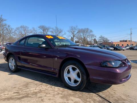 1996 Ford Mustang for sale at Victory Motors in Waterloo IA