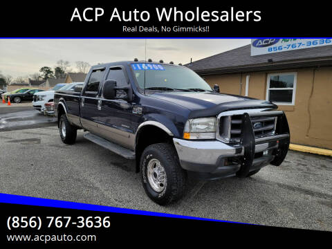 2002 Ford F-350 Super Duty for sale at ACP Auto Wholesalers in Berlin NJ