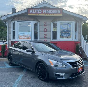 2015 Nissan Altima for sale at Auto Finders Unlimited LLC in Vineland NJ