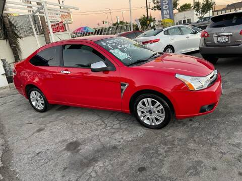 2008 Ford Focus for sale at Olympic Motors in Los Angeles CA
