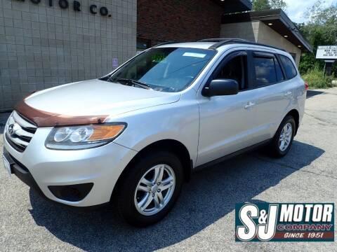 2012 Hyundai Santa Fe for sale at S & J Motor Co Inc. in Merrimack NH