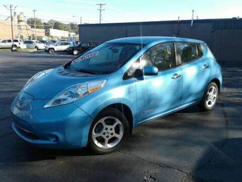2012 Nissan LEAF for sale at Car Guys in Lenoir NC