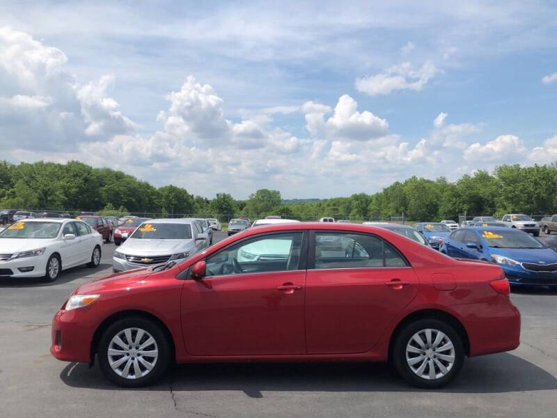 2013 Toyota Corolla for sale at CARS PLUS CREDIT in Independence MO