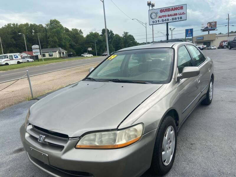 1999 Honda Accord for sale at Guidance Auto Sales LLC in Columbia TN