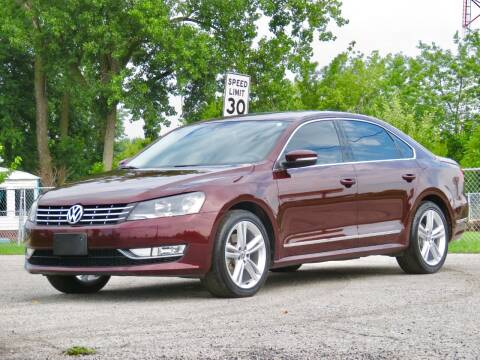 2014 Volkswagen Passat for sale at Tonys Pre Owned Auto Sales in Kokomo IN