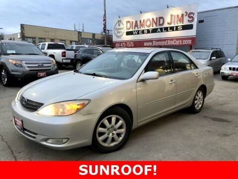 2003 Toyota Camry for sale at Diamond Jim's West Allis in West Allis WI