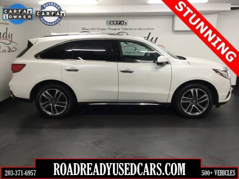 2017 Acura MDX for sale at Road Ready Used Cars in Ansonia CT