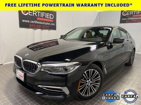 2019 BMW 5 Series for sale at CERTIFIED AUTOPLEX INC in Dallas TX