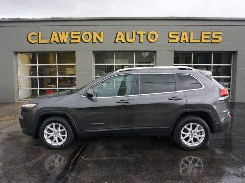 2016 Jeep Cherokee for sale at Clawson Auto Sales in Clawson MI