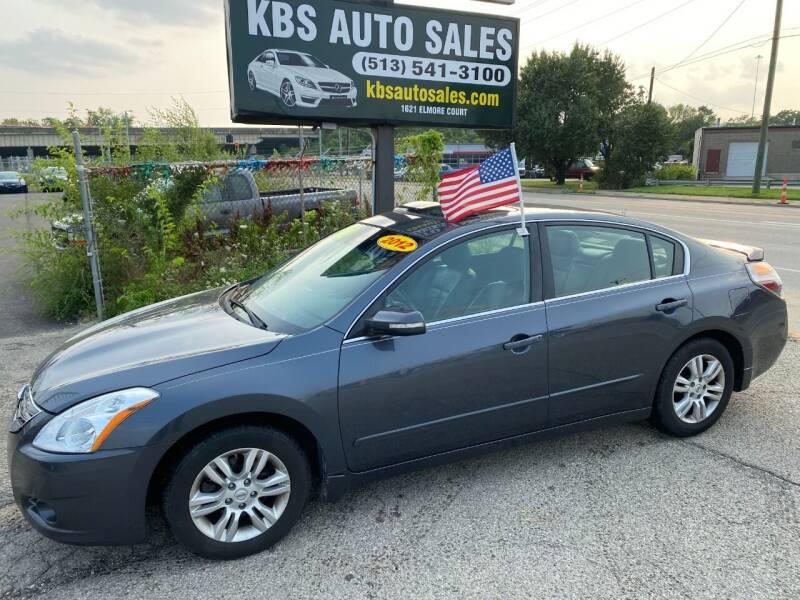 2012 Nissan Altima for sale at KBS Auto Sales in Cincinnati OH