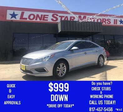 2017 Hyundai Sonata for sale at LONE STAR MOTORS II in Fort Worth TX