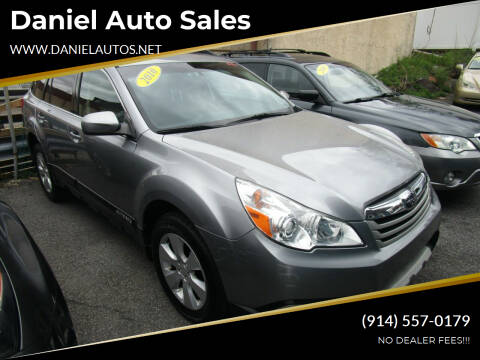 2010 Subaru Outback for sale at Daniel Auto Sales in Yonkers NY