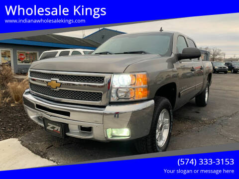 2012 Chevrolet Silverado 1500 for sale at Wholesale Kings in Elkhart IN