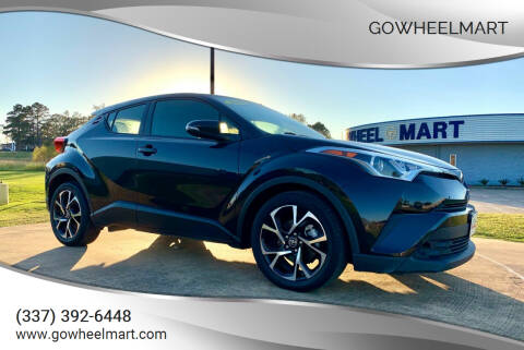 2019 Toyota C-HR for sale at GoWheelMart in Leesville LA