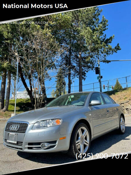 2007 Audi A4 for sale at National Motors USA in Federal Way WA