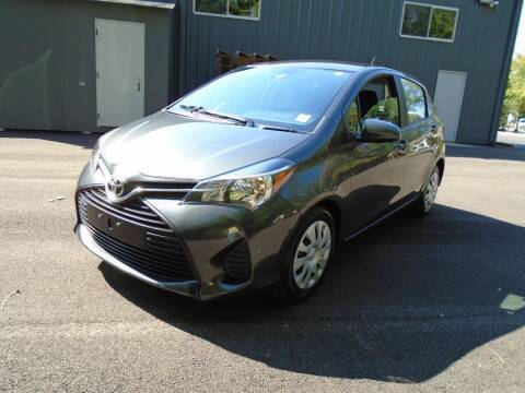2017 Toyota Yaris for sale at Triangle Auto Sales in Elgin IL