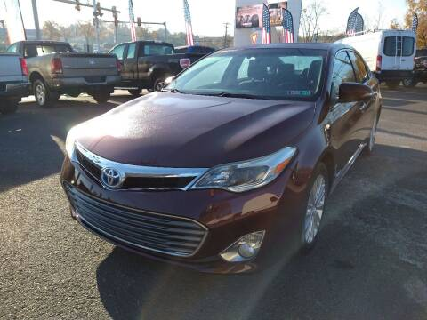 2014 Toyota Avalon Hybrid for sale at P J McCafferty Inc in Langhorne PA