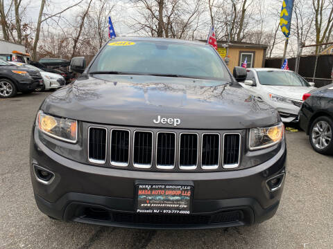 2015 Jeep Grand Cherokee for sale at Nasa Auto Group LLC in Passaic NJ
