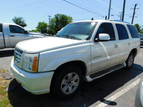 2006 Cadillac Escalade for sale at WOOD MOTOR COMPANY in Madison TN