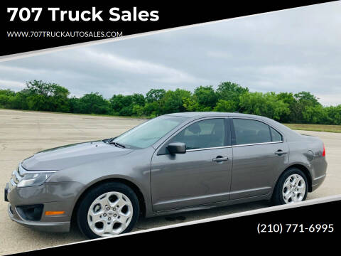 2010 Ford Fusion for sale at 707 Truck Sales in San Antonio TX