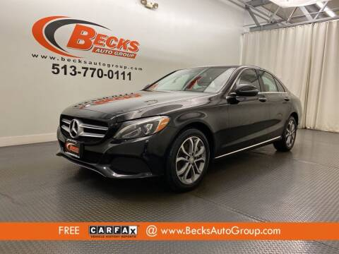2016 Mercedes-Benz C-Class for sale at Becks Auto Group in Mason OH