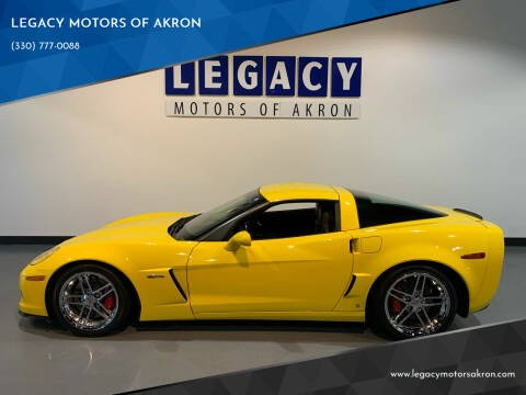 2008 Chevrolet Corvette for sale at LEGACY MOTORS OF AKRON in Akron OH