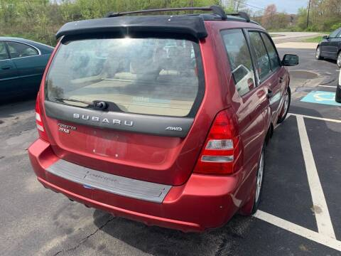 2003 Subaru Forester for sale at Trocci's Auto Sales in West Pittsburg PA