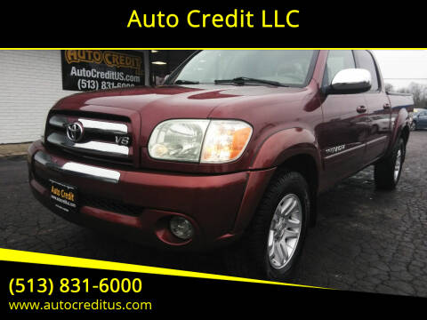2005 Toyota Tundra for sale at Auto Credit LLC in Milford OH
