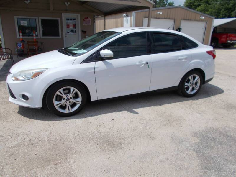 2014 Ford Focus for sale at DISCOUNT AUTOS in Cibolo TX