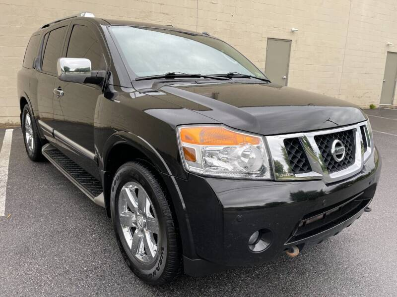 2011 Nissan Armada for sale at CROSSROADS AUTO SALES in West Chester PA