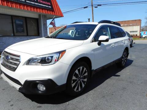 2016 Subaru Outback for sale at Super Sports & Imports in Jonesville NC