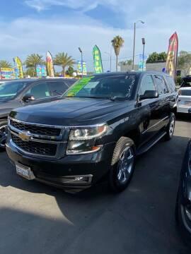 2015 Chevrolet Tahoe for sale at 2955 FIRESTONE BLVD - 3271 E. Firestone Blvd Lot in South Gate CA