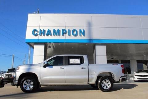 2021 Chevrolet Silverado 1500 for sale at Champion Chevrolet in Athens AL