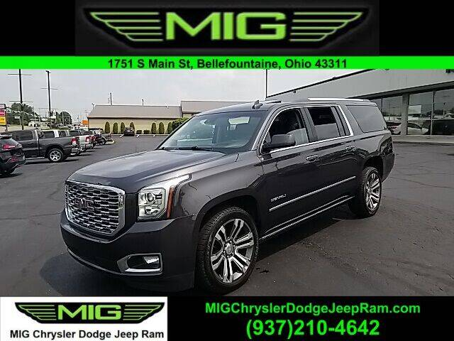 2018 GMC Yukon XL for sale at MIG Chrysler Dodge Jeep Ram in Bellefontaine OH
