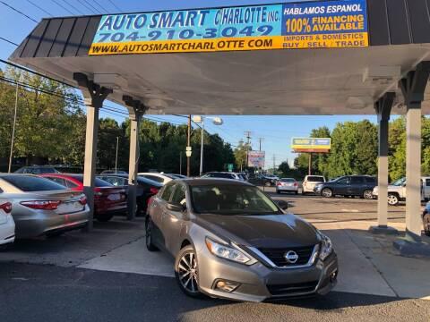 2017 Nissan Altima for sale at Auto Smart Charlotte in Charlotte NC