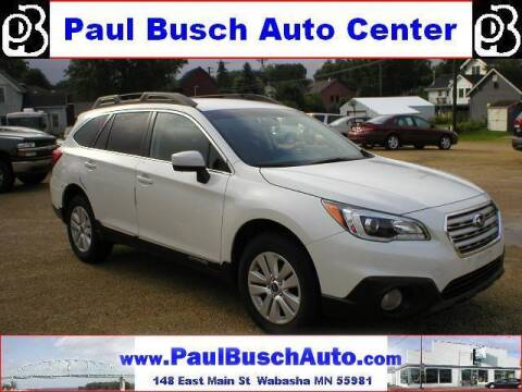 2017 Subaru Outback for sale at Paul Busch Auto Center Inc in Wabasha MN