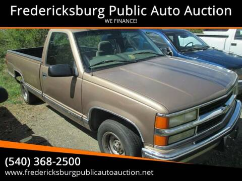 1997 Chevrolet C/K 1500 Series for sale at FPAA in Fredericksburg VA