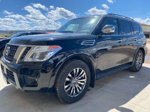 2019 Nissan Armada for sale at FAST LANE AUTOS in Spearfish SD