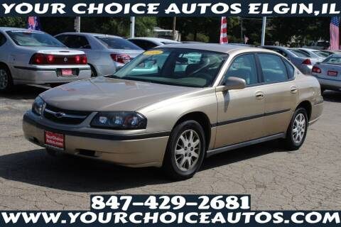 2004 Chevrolet Impala for sale at Your Choice Autos - Elgin in Elgin IL