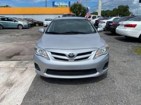 2011 Toyota Corolla for sale at CENTRAL FLORIDA AUTO MART LLC in Orlando FL